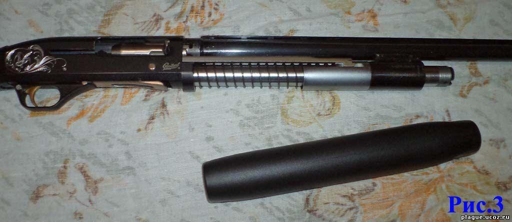 Мр-153 со снятым цевьем