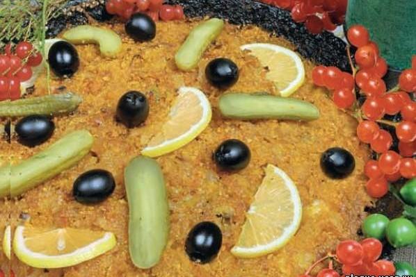 Рыбная солянка на сковороде по – Валдайски.