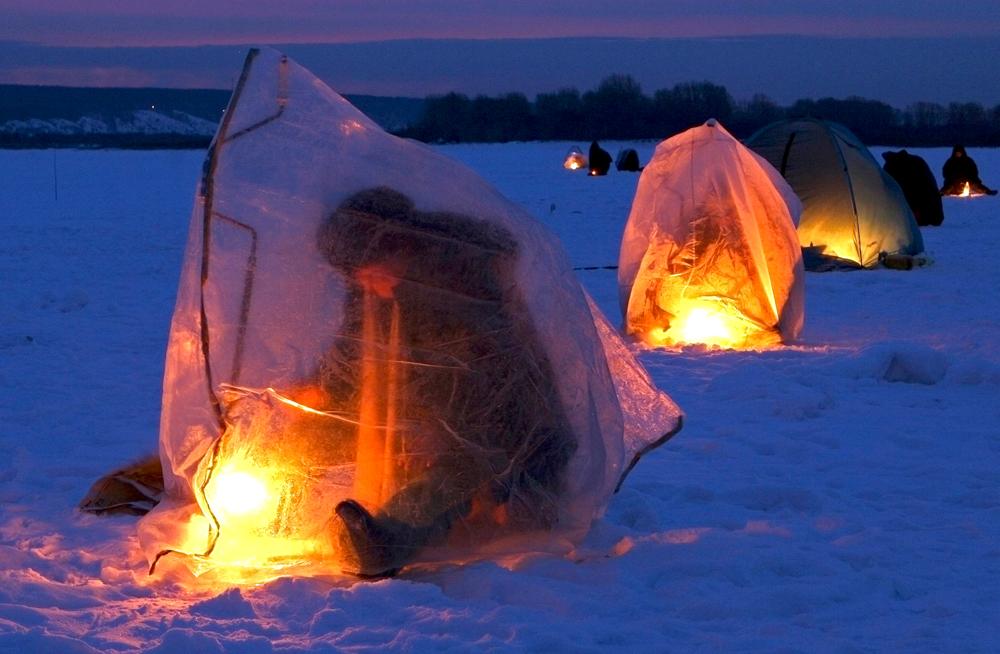Как сделать палатку на рыбалку 595