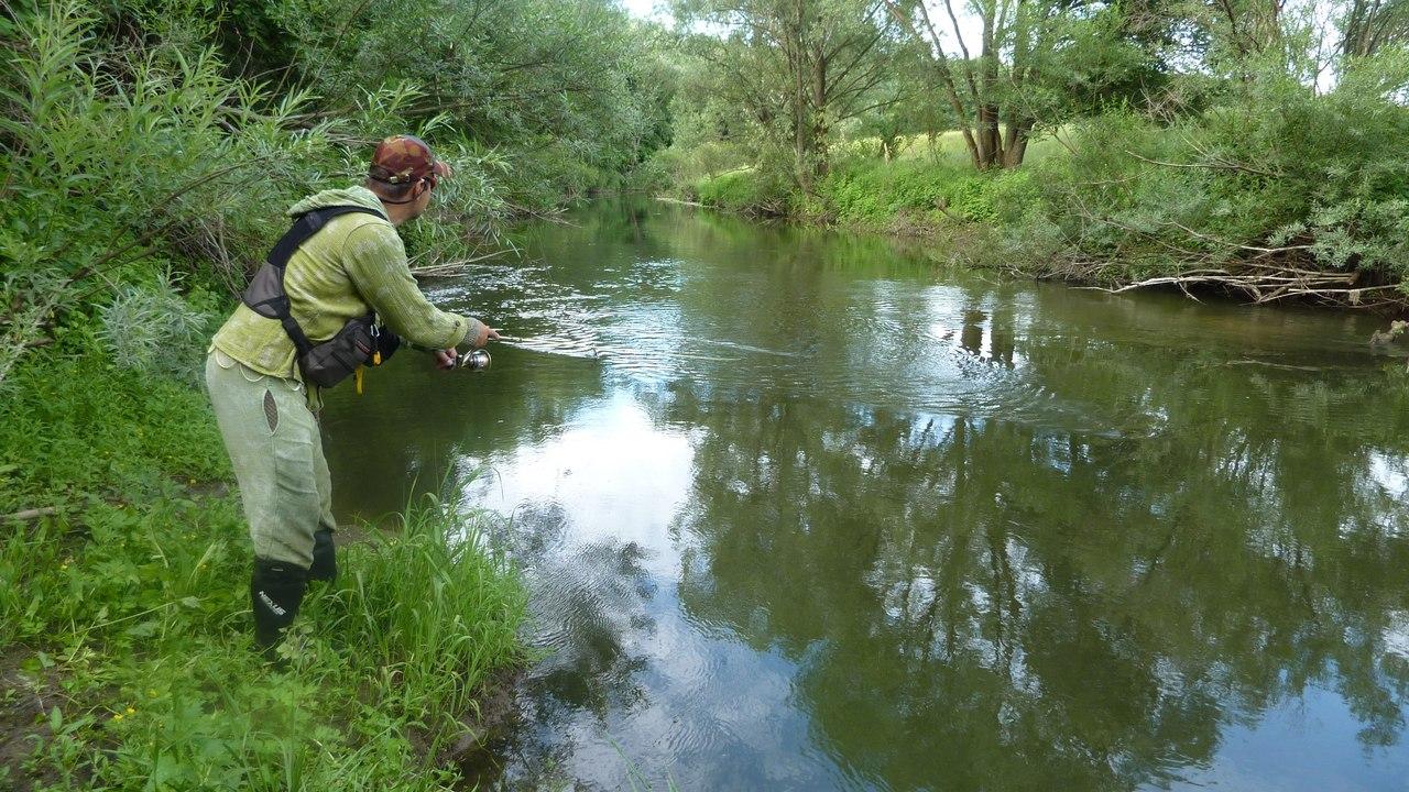 рыбалка в конце апреля на малых реках