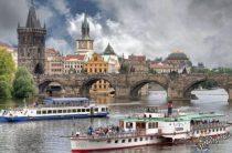 Прага в апреле