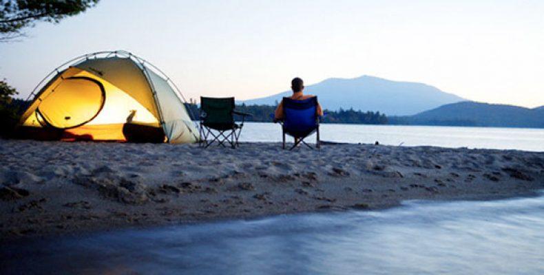 Отдых в палатках