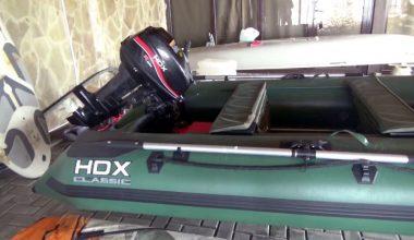 Лодочный мотор HDX 9.9: компактность и надежность