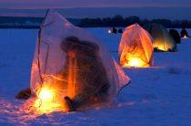 Палатка для зимней рыбалки является комфортным гаджетом