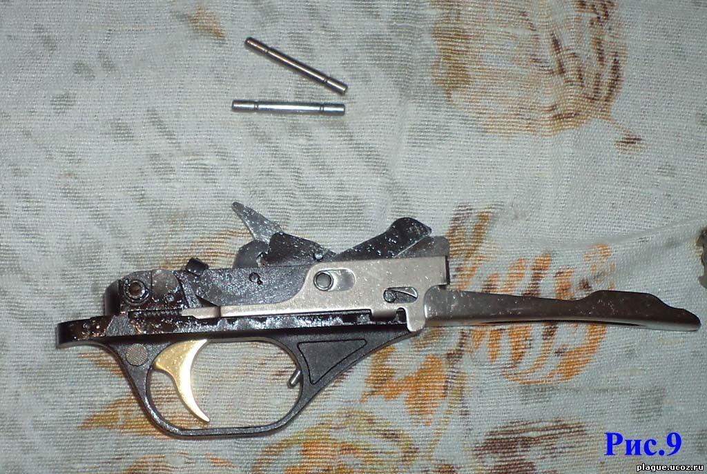 УСМ (ударно-спусковой механизм) ружья мр-153