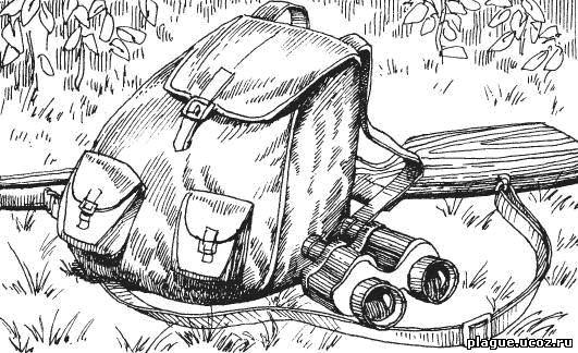 Ружье, бинокль и рюкзак – минимальная экипировка охотника