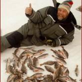 В Кировской области из-за морозов рыбаки снимают небывалый улов