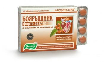 Боярышник в таблетках