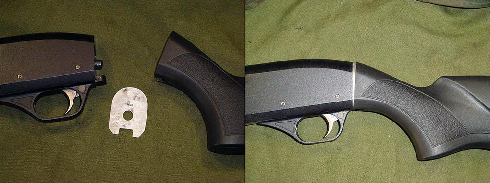 подгонка приклада мр-153