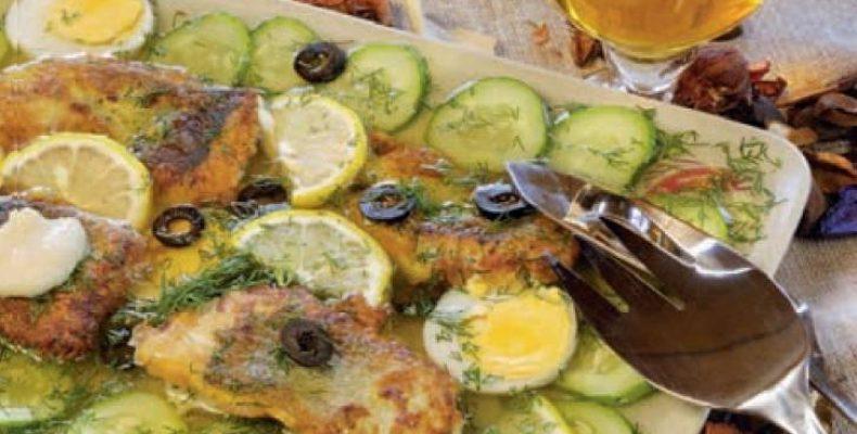 Закуска из рыбы по-деревенски